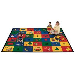 Carpets for Kids 1312 Literacy Blocks of Fun Kids Rug Size: