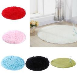 1Pcs Fluffy round rug carpets for living room decor faux car