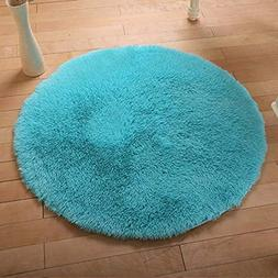 DODOING 3-5 Days Delivery Super Soft Rug Shaggy Rug Round Ar
