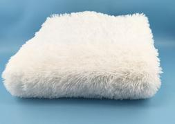 ACTCUT 4.5cm Thick Carpet Indoor Modern White Shaggy Soft Sm