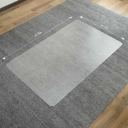 "48""x36"" HEAVY-DUTY Office Chair Mat For Low Pile Carpet Prot"