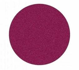 Learning Carpets 6.5 ft. x 6.5 ft. Round Solid Cranberry Red