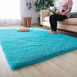 80x120cm Ultra Soft Modern Area Rugs Fluffy Carpets  for Chi