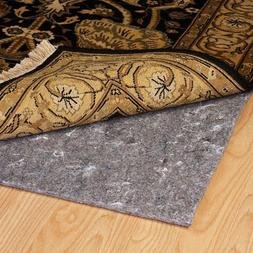 Duo-Lock Reversible Felt and Rubber Non-Slip Rug Pad, Size: