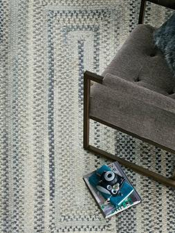 Capel Rugs Alliance Chenille Polyester Braided Concentric Ru