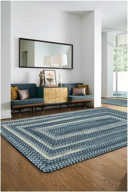 Capel Rugs Alliance Soft Chenille Polyester Braided Concentr