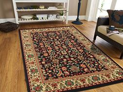 AS Quality Rugs Black Persian Style Runner Rug for Hallway 2