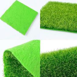 Artificial Grass Rug Synthetic Turf Fake Lawn Carpet Mat Eas