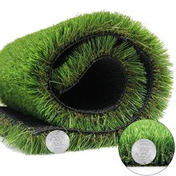 AGOOL Artificial Grass Turf Synthetic Rug Super Thick Fake C