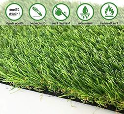 JSHANMEI Artificial Lawn Synthetic Turf Artficial Grass for