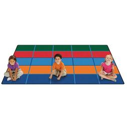 Carpets for Kids 72.91 Color Blocks Value Seating Kids Rug S