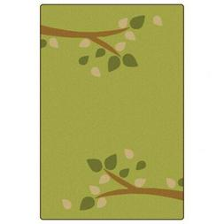 Carpets for Kids Branching Out Carpet 4' x 6' - Green