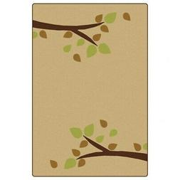 Carpets for Kids Branching Out Carpet 6' x 9' - Tan