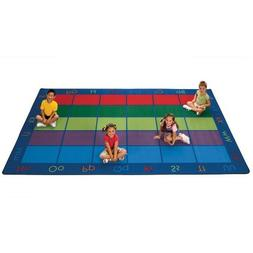 Carpets for Kids 8612 Colorful Seating Places Kids Rug Size: