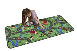Learning Carpets Countryside Play Carpet, 27 x 60""