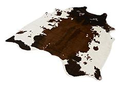 NEW LARGE Cowhide Rug Cowskin Cow Hide Leather Carpet $54.39