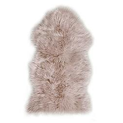 Faux Sheepskin Fur Rug Soft Fluffy Carpets Chair Couch Cover