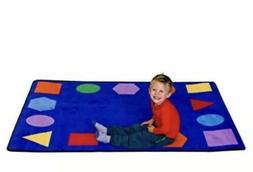 Learning Carpets Geometric Shapes Value Size Carpet, One Col