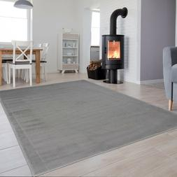 Grey Small Extra Large Plain Area Rug for Bedroom Living Roo