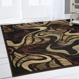 Home Dynamix HD1258 Catalina Area Rug - Brown-Red