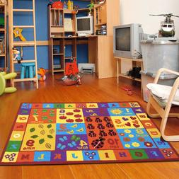 Furnish my Place 3' x 5' Kids ABC area rug Educational Alpha