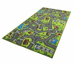 Kids Carpet Playground Fun Rug For Toddler Playing Mat Play