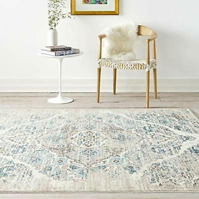 4620 Distressed 6'5x9'2 Area Rug Carpet Large New 6' x 9' Cr