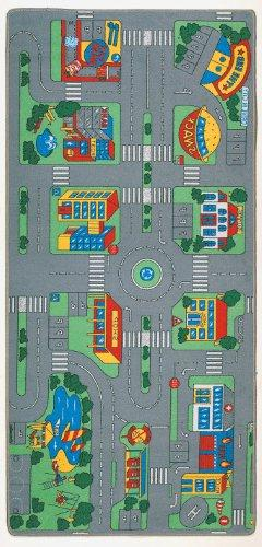 City Play Kids Rug - Size: 3' x 6'8