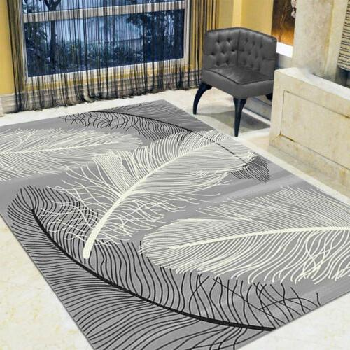 Contemporary Soft Area Rugs Nonslip Home Room Mat Rug