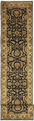 """Hand-knotted Carpet 2'5"""" x 13'10"""" Jamshidpour Traditional Wo"""
