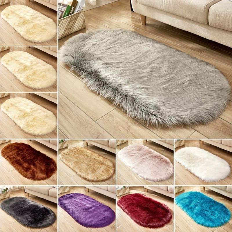 Luxury Fluffy Faux Soft Bedroom Floor