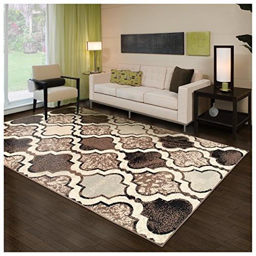 Superior Modern Viking Collection Area Rug, 8mm Pile Height