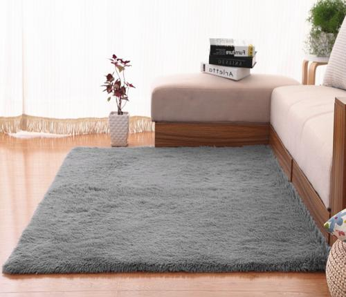 Ultra Soft Indoor Modern Area Rugs Fluffy Carpets Suitable f