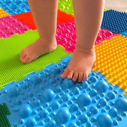 Orthopedic massage puzzle floor mats First steps  for babies