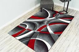 PREMIUM 3D Hand Carved Modern 5x7 5x8 Rug Contemporary 2305
