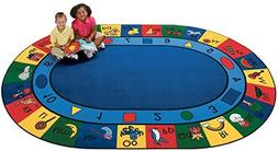 "Carpets for Kids 6'9"" X 9'6"", Blue"