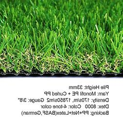 SV Household Decor Realistic Deluxe Artificial Grass Synthet
