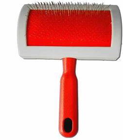 Rug Brush and Cleaner Pet Slicker Brush Fine Wire to Remove