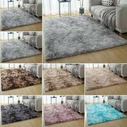 Shaggy Rugs Floor Carpet Living Room Bedroom Anti-Skid Mats