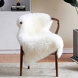 Softness Faux Fur Rug White Sheepskin Rug Chair Cover Seat P