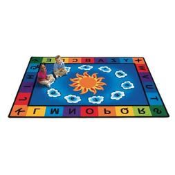 Carpets for Kids Sunny Day Learn/Play Rectangle Rug - 100 Le