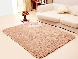 ACTCUT Super Soft Solid Carpet/Floor Rug/Living Room Carpet/