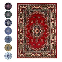 Traditional Oriental Medallion Area Rug Persien Style Carpet