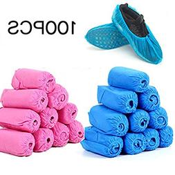 DODOING Water Resistant Disposable Boot & Shoe Covers Heavy