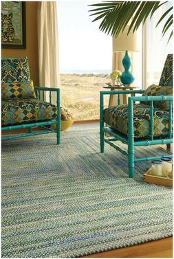 Capel Rugs Waterway Soft Cotton Chenille Concentric Braided